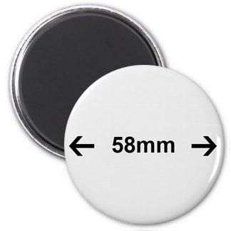 Magnetic Badge 58MM