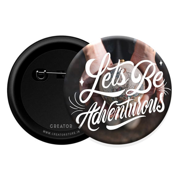 Adventure Button Badge