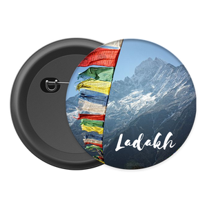 Ladakh Button Badge