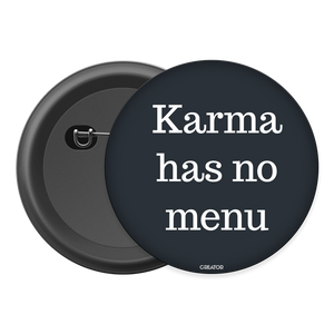 Karma has no menu Button Badge