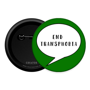 End transphobia Button Badge