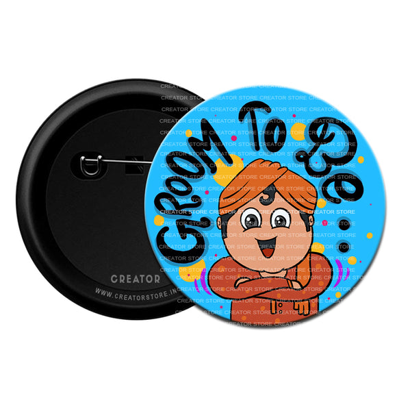 Groom to be Wedding Pinback Button Badge