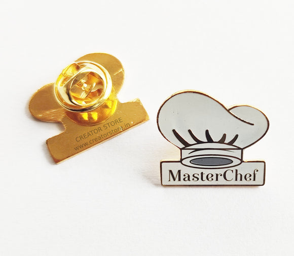 Master Chef Enamel Pin