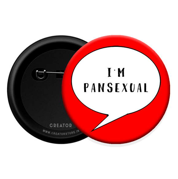 I am pansexual Button Badge