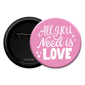 Love Button Badge