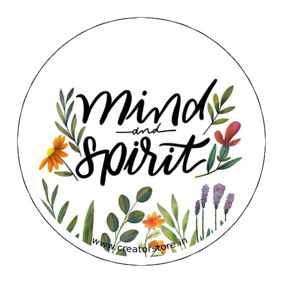 Mind spirit Laptop Sticker