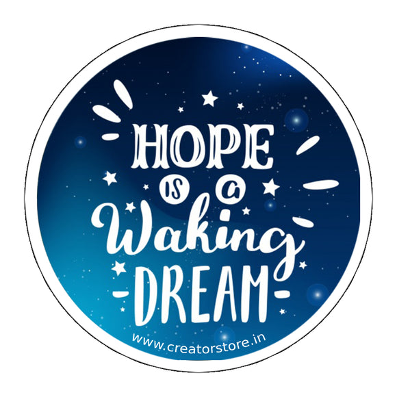 Hope Laptop Sticker