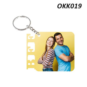 BFF Photo Keychain