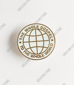 Brass Enamel Round Badge - Pack of 50