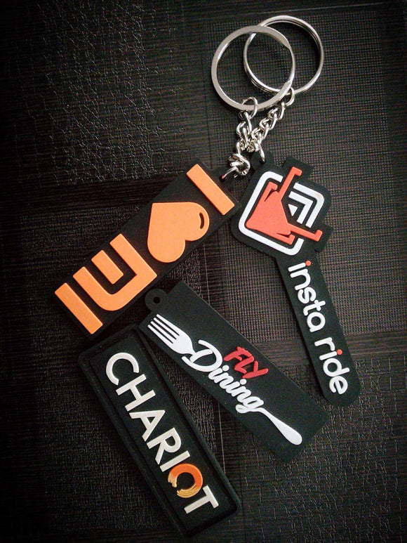 Silicon Keychains (Pack of 500)