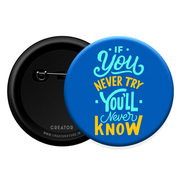 Try Button Badge