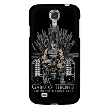 teelaunch Phone Cases Galaxy S4 Gainz of Thrones | Android Cases