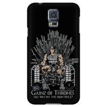 teelaunch Phone Cases Galaxy S5 Gainz of Thrones | Android Cases