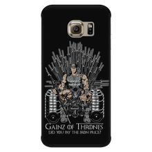 teelaunch Phone Cases Galaxy S6 Edge Gainz of Thrones | Android Cases