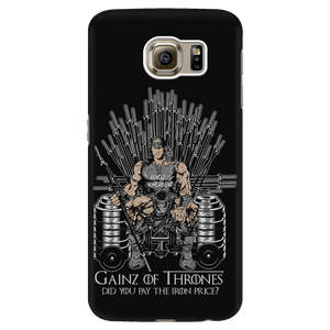 teelaunch Phone Cases Galaxy S6 Gainz of Thrones | Android Cases
