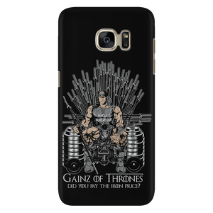 teelaunch Phone Cases Galaxy S7 Gainz of Thrones | Android Cases