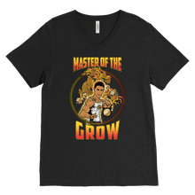 "teelaunch T-shirt Canvas Mens V-Neck / Black / S Brute Leroy - ""Master Of The Grow"" 