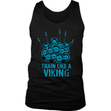 teelaunch T-shirt District Mens Tank / Black / S Train Like A Viking | Standard Tank Top