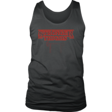teelaunch T-shirt District Mens Tank / Charcoal / S Stronger Thighs - Mens Tank