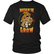 "teelaunch T-shirt District Unisex Shirt / Black / S Brute Leroy - ""Master Of The Grow"" 