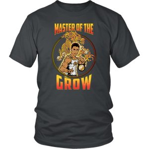 "teelaunch T-shirt District Unisex Shirt / Charcoal / S Brute Leroy - ""Master Of The Grow"" 
