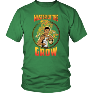 "teelaunch T-shirt District Unisex Shirt / Kelly Green / S Brute Leroy - ""Master Of The Grow"" 