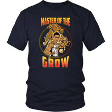 "teelaunch T-shirt District Unisex Shirt / Navy / S Brute Leroy - ""Master Of The Grow"" 