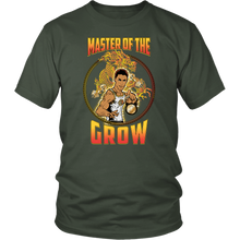"teelaunch T-shirt District Unisex Shirt / Olive / S Brute Leroy - ""Master Of The Grow"" 