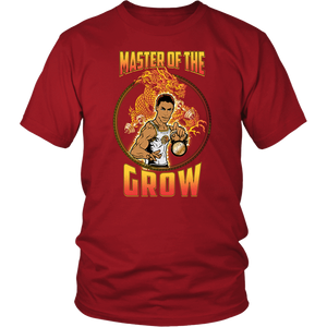 "teelaunch T-shirt District Unisex Shirt / Red / S Brute Leroy - ""Master Of The Grow"" 