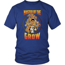 "teelaunch T-shirt District Unisex Shirt / Royal Blue / S Brute Leroy - ""Master Of The Grow"" 