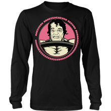 teelaunch T-shirt Long Sleeve Shirt / Black / S Arnold Scream | Long Sleeve (Oversized Print) Shirt