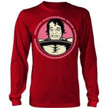 teelaunch T-shirt Long Sleeve Shirt / Red / S Arnold Scream | Long Sleeve (Oversized Print) Shirt