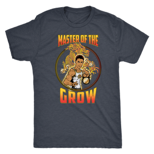The Last Dragon T Shirt/Bruce Leroy T Shirt Mens Triblend / Vintage Navy / S Bruce Leroy Master Of The Grow