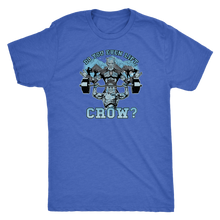 teelaunch T-shirt Next Level Mens Triblend / Vintage Royal / S Do You Even Lift, Crow? (Press) | Premium Triblend Shirt