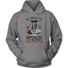 "teelaunch T-shirt Unisex Hoodie / Grey / S Gaindalf's Gym (Arms Closed) - ""Flye, You Fools!"" 