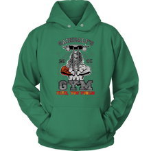 "teelaunch T-shirt Unisex Hoodie / Kelly Green / S Gaindalf's Gym (Arms Closed) - ""Flye, You Fools!"" 