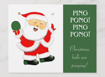 5 Easy Christmas Ping Pong Party Games!