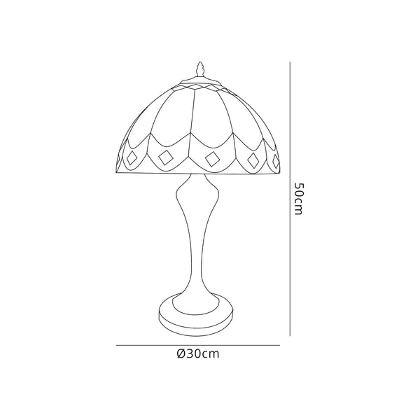 Dawnnd Tiffany Table Lamp