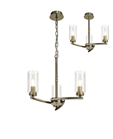 Barbara Adjustable Chandelier Light