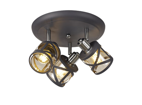 Cottage Semi Flush Light Fitting