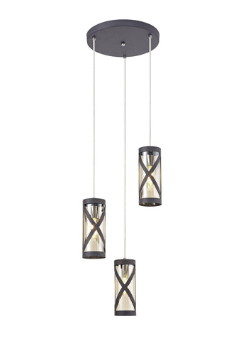 Cottage 3 Light Multi Pendant