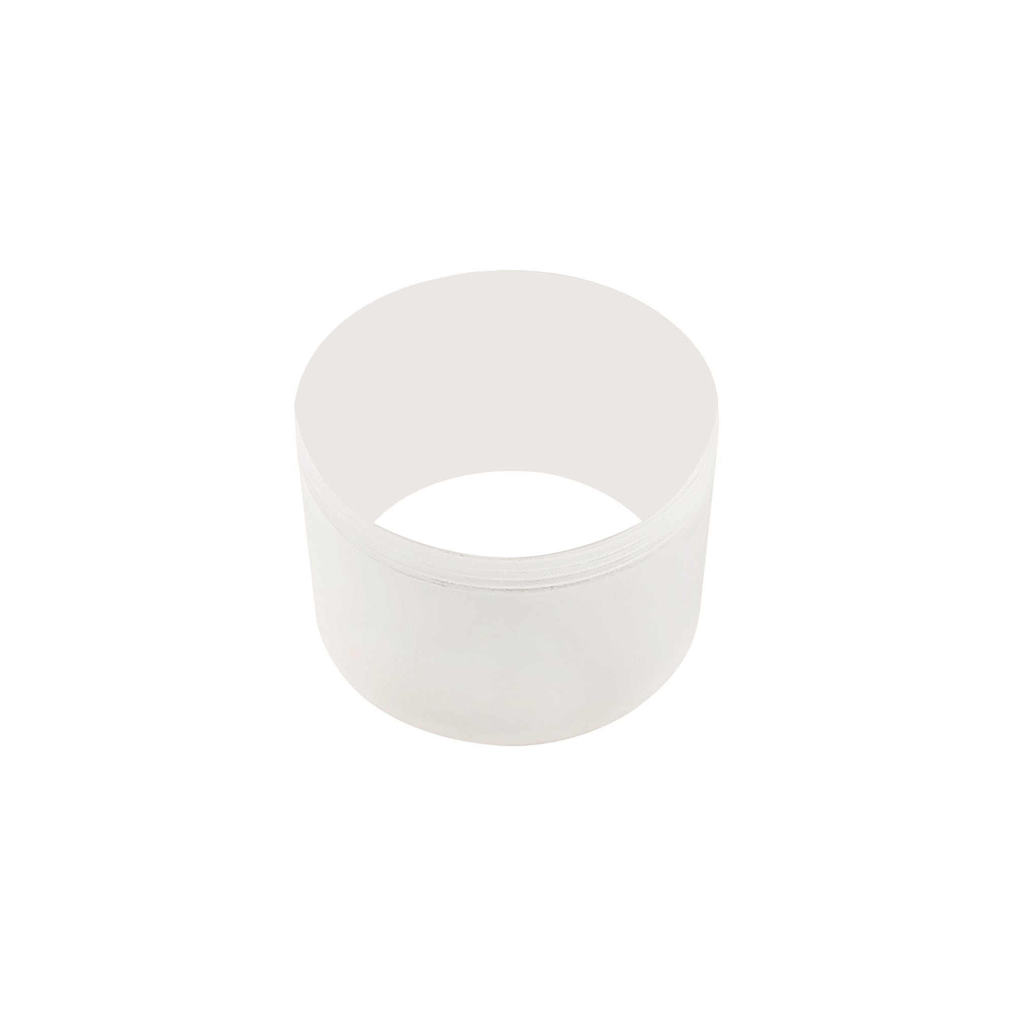 Ellie 2cm Face Ring Accessory, Frosted Acrylic