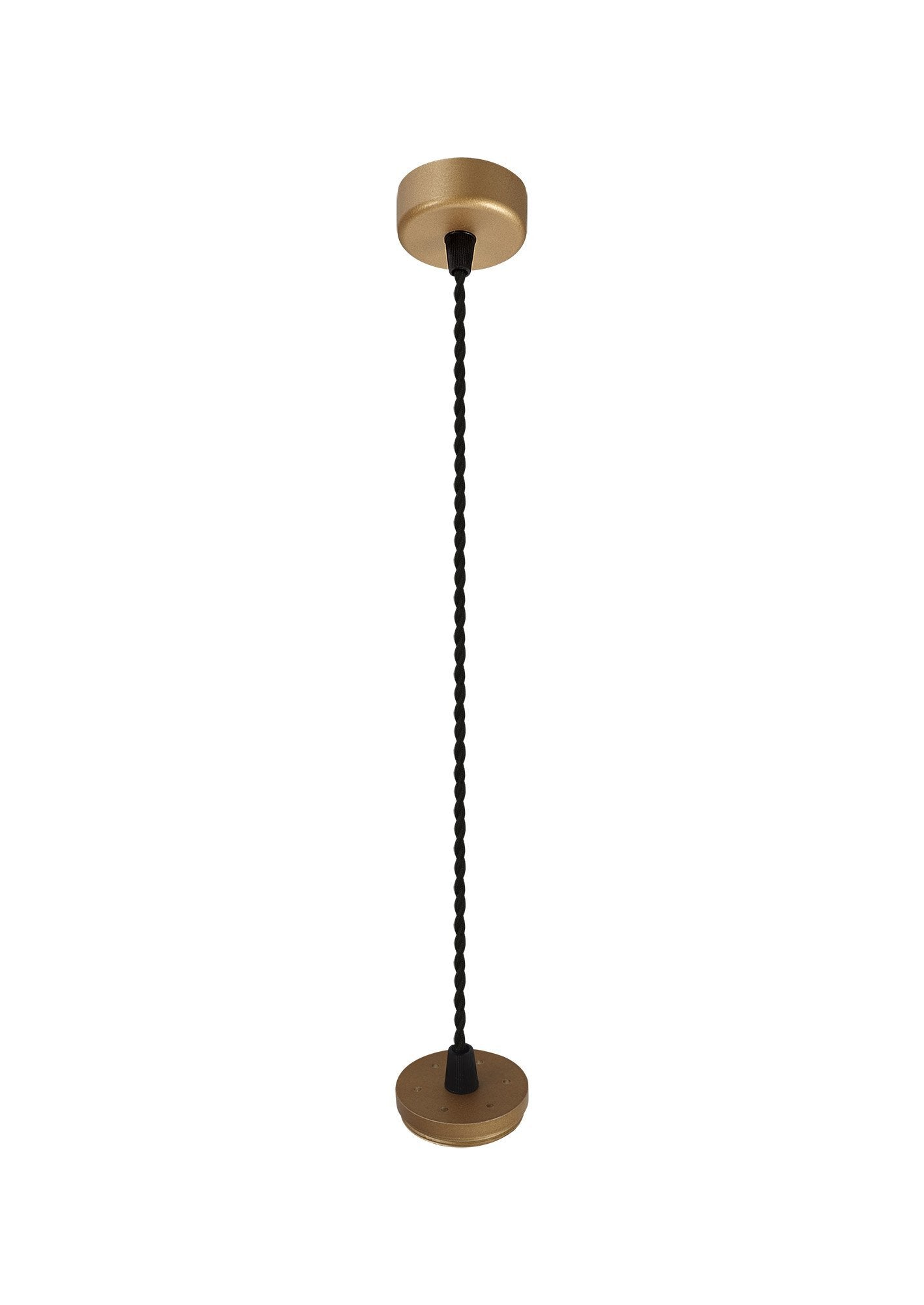 Ellie Pendant Light Kit 2M, 1 x GU10, Champagne Gold