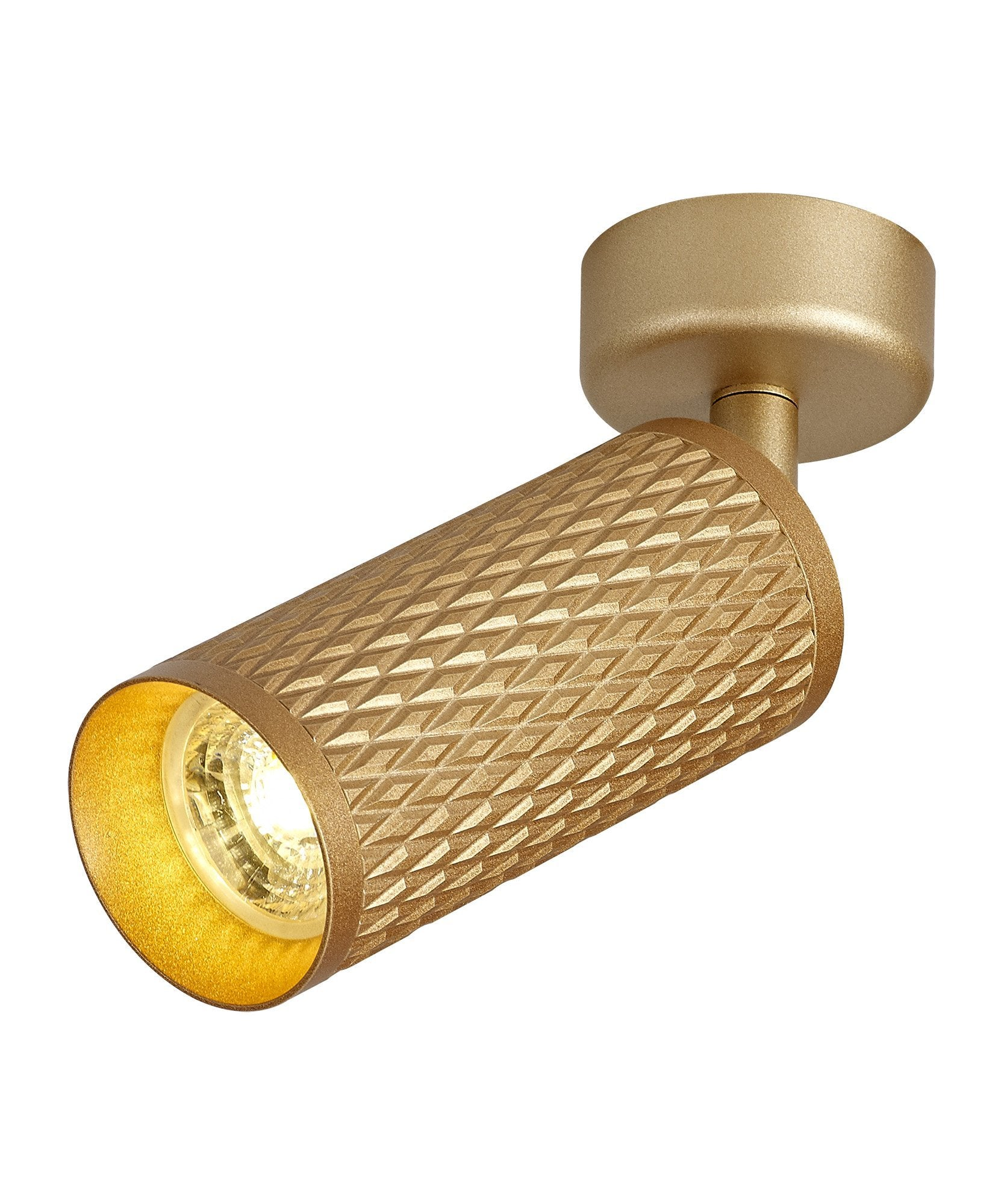 Ellie Moveace Mounted Spot Light, 1 x GU10, Champagne Gold