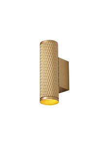 Ellie Wall Lamp, 2 x GU10, Champagne Gold