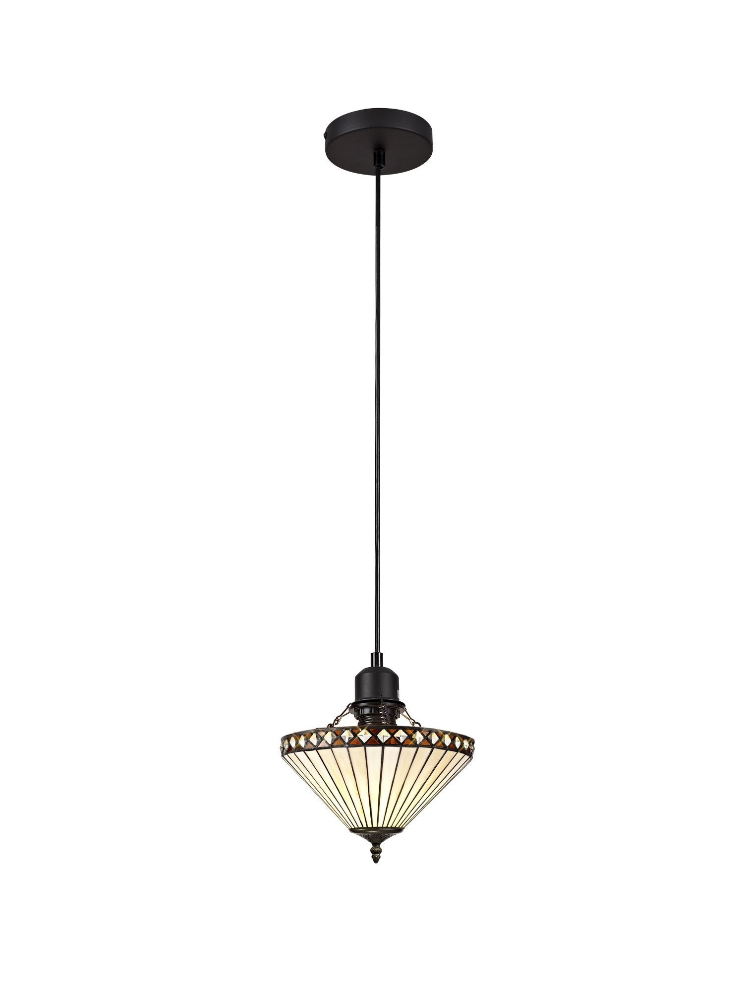 Alfred Single Pendant Uplighter