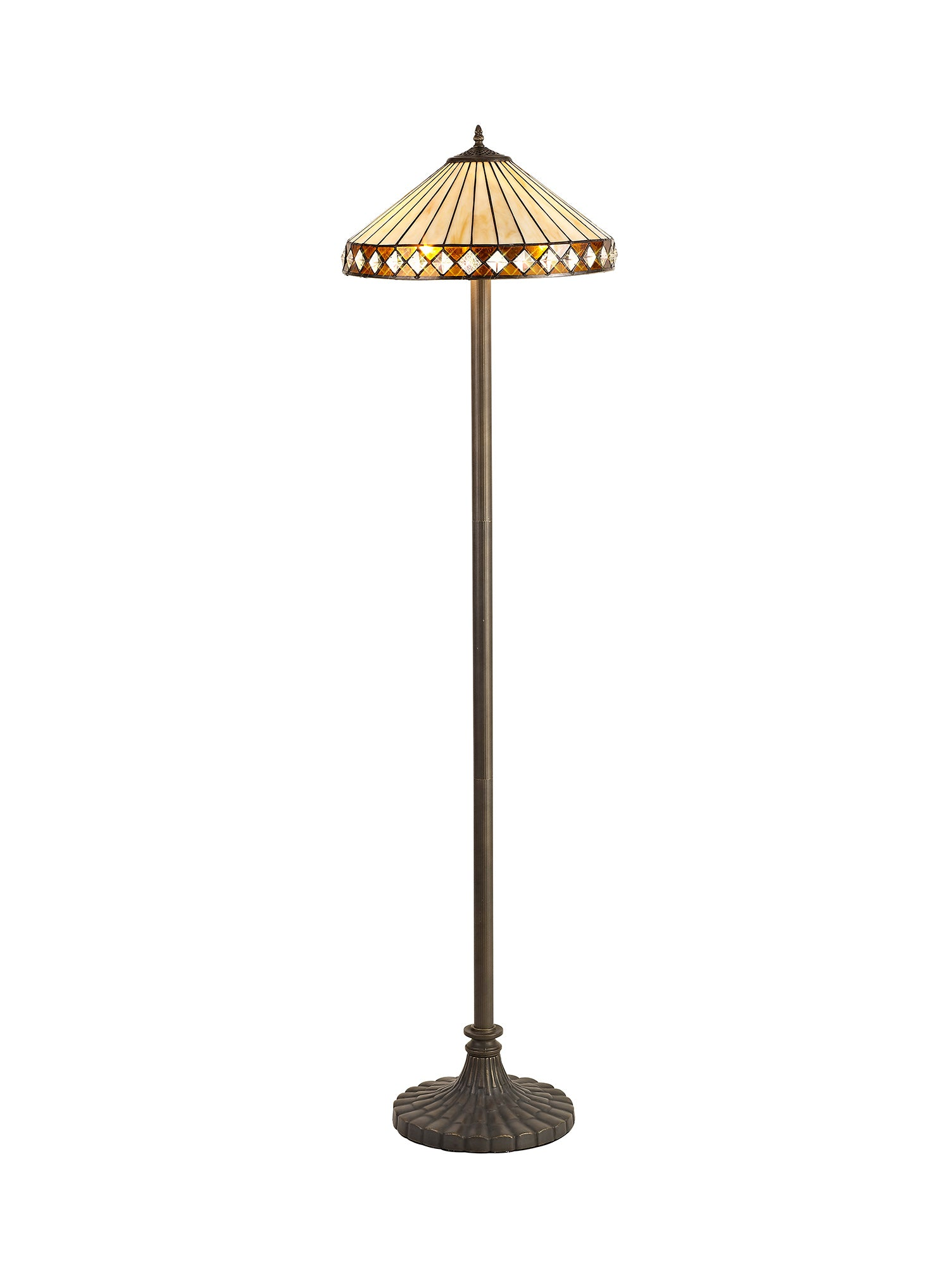 Alfred Tiffany Floor Lamp