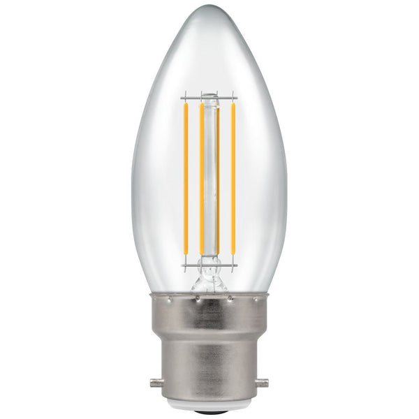 Crompton LED Candle Filament lamp 5W Dimmable