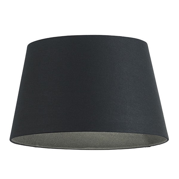 "Tapered Black Fabric 10"" Lampshade"