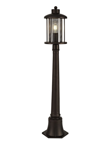 Miner Single Headed Post Lamp